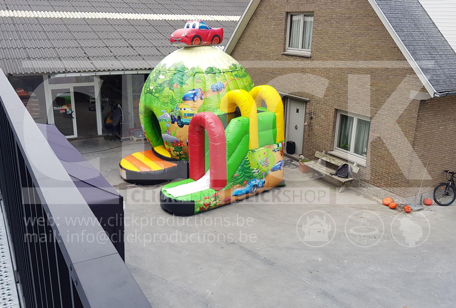 Springkasteel Cars Disco