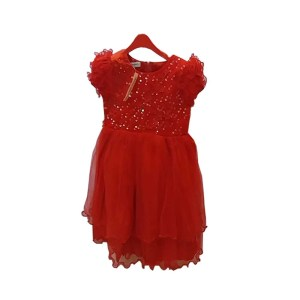 baby girl red color dress full size