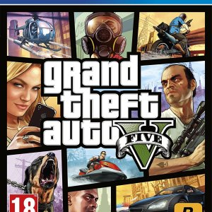 Grand Thef Auto V Five PS4 Game swat market software zone