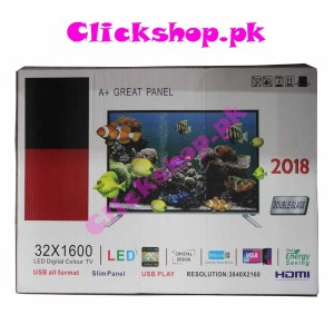 A+ Great Panel LED Digital Color TV Double Glass