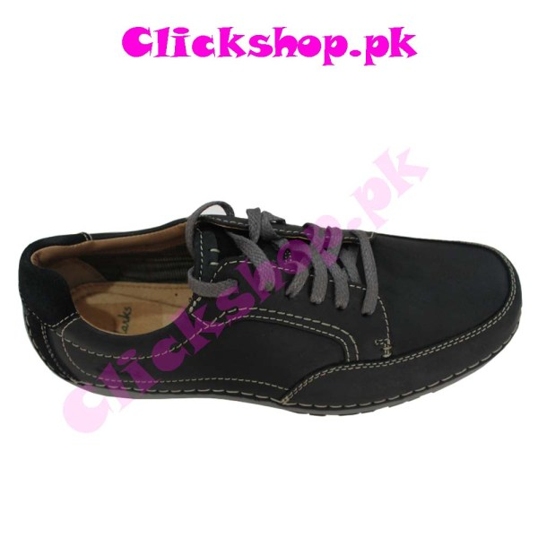 Black Color Shoes for Young Boy - Brand Clark