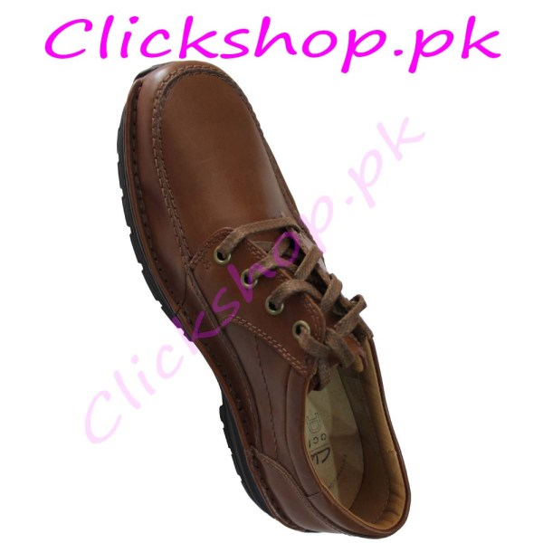 Brown Design Shoes for young boys - Brand Clark