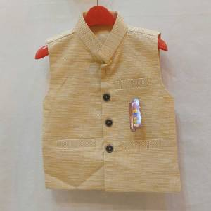 yellow jacket for baby dashing style and classical design