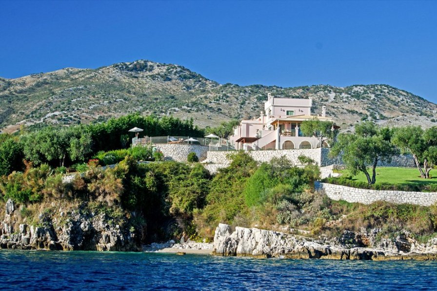 Villa To Rent In Kassiopi Corfu With Private Pool 202186