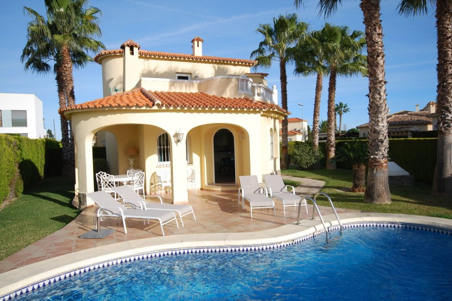 Villa to rent in Oliva Spain with private pool  236115
