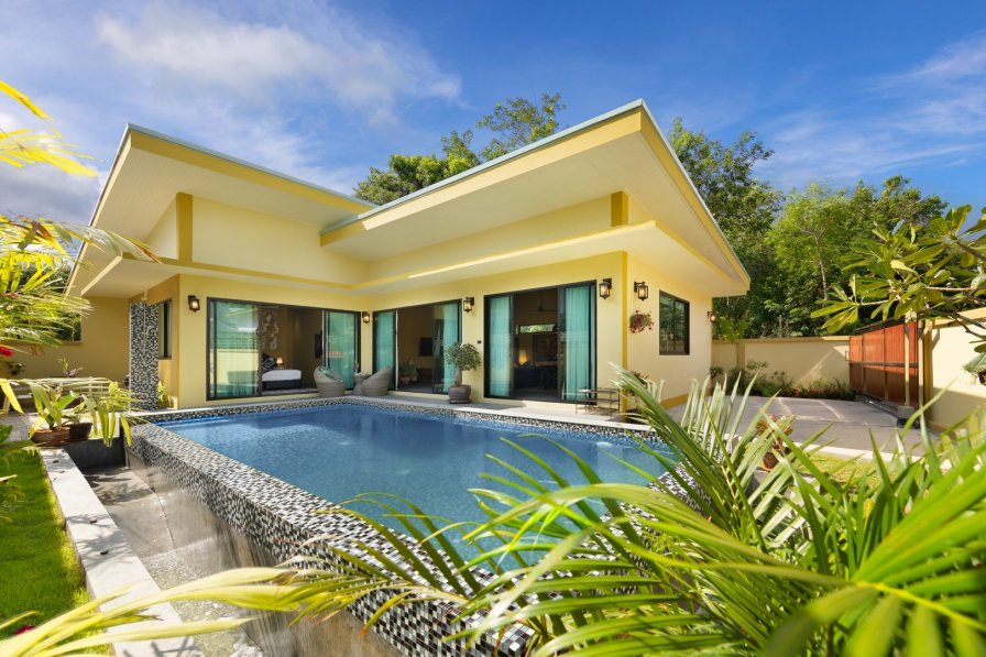 Private Villa Pool Baan Puahracsa 3 Bedroom Tropical Tranquility