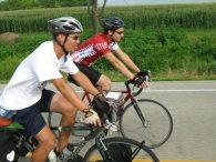 Joe enjoying a nice bike ride!