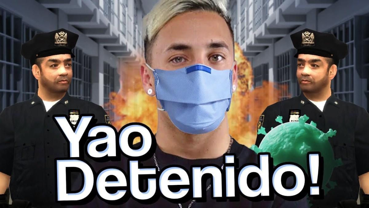 Yao Cabrera detenido por violar la cuarentena