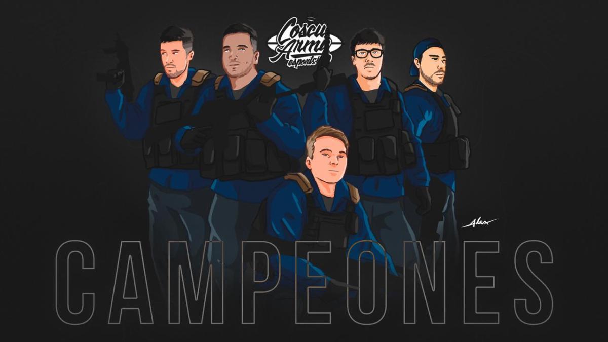 La Coscu Army salió campeón de CSGO