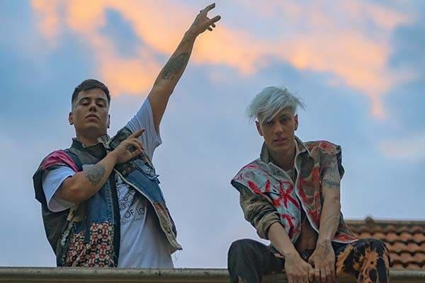 """Duki y Seven Kayne lanzaron el videoclip de """"Hablamos poco hacemos mucho"""""""