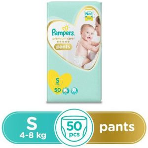 Pampers Premium Care Pant Diapers Small - 50 Pieces
