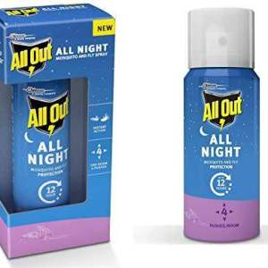 All Out All Night Mosquito and Fly Spray, 15ml - ClickUrKart