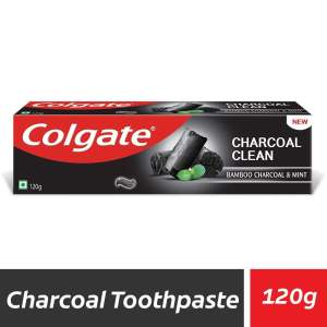 Colgate Charcoal Clean Black Gel Toothpaste - Bamboo Charcoal & Mint - ClickUrKart