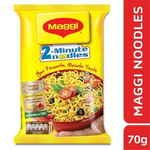 Maggi 2-Minute Instant Noodles - Masala, 70 g Pouch