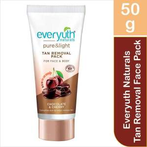 Everyuth Naturals Chocolate & Cherry Tan Removal Face Pack, 50g - ClickUrKart