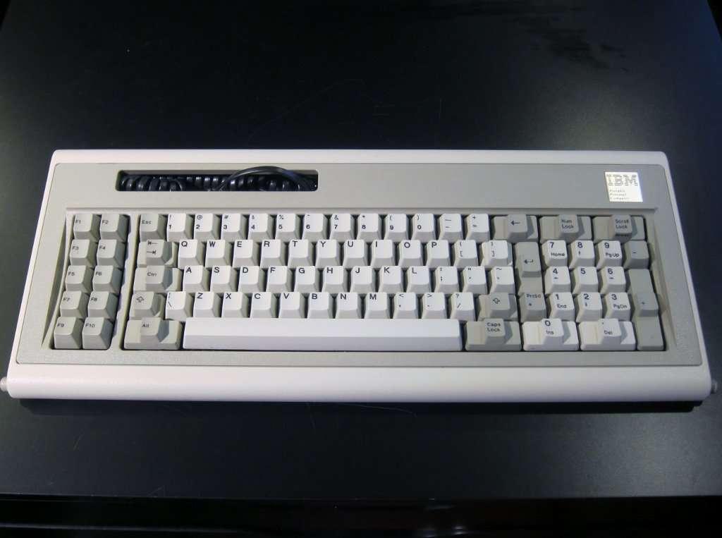 IBM model F keyboard XT (IBM 5155 portable) – ClickyKeyboards