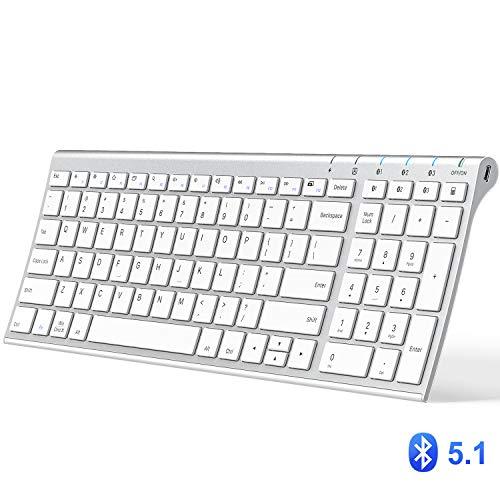 iClever Bluetooth Keyboard, Multi Device Keyboard
