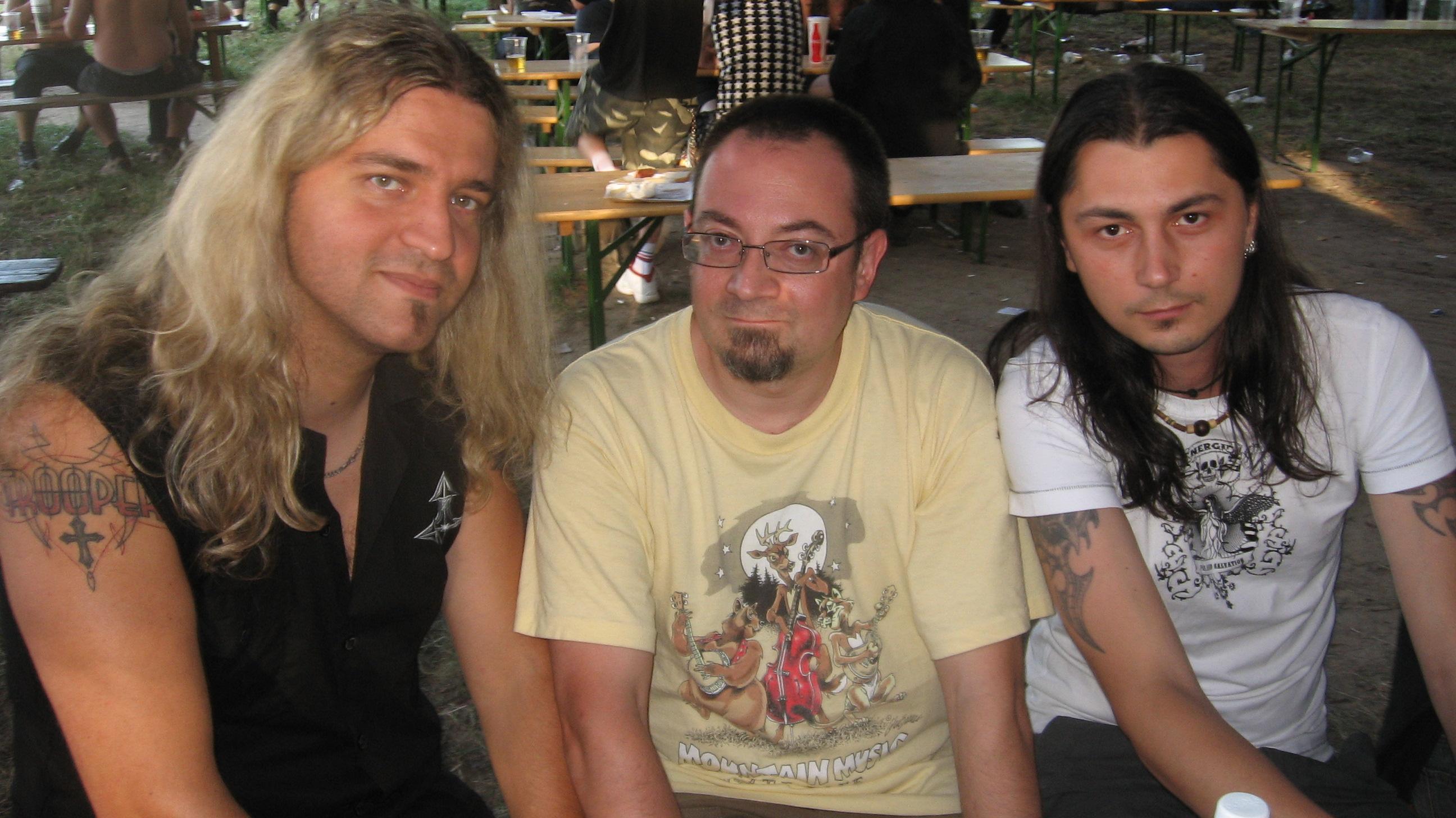 CZB meets TROOPER @ SamFest 2009. chill.