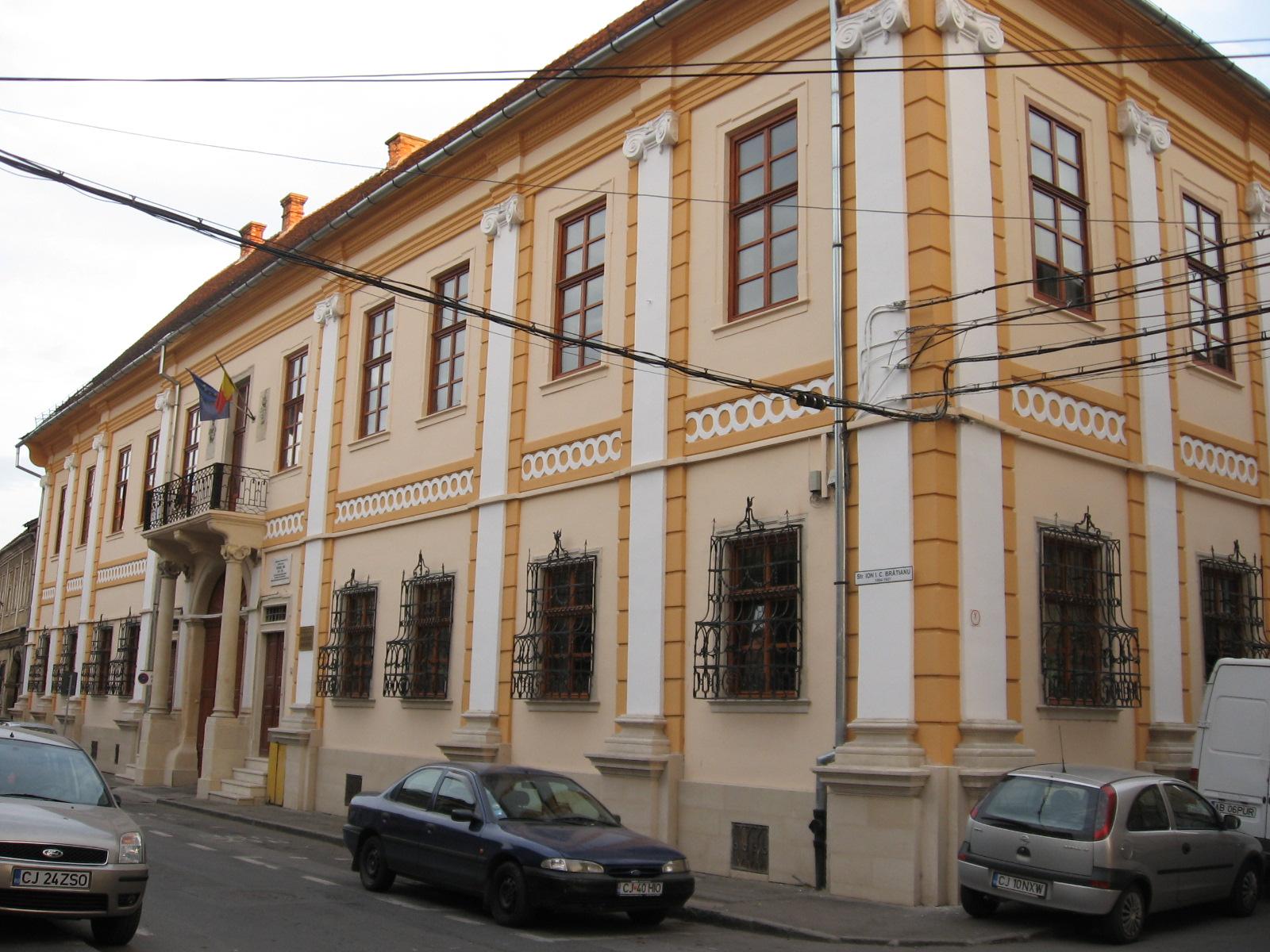 prima clădire a Conservatorului. Str. IC Brătianu, fosta 23 august