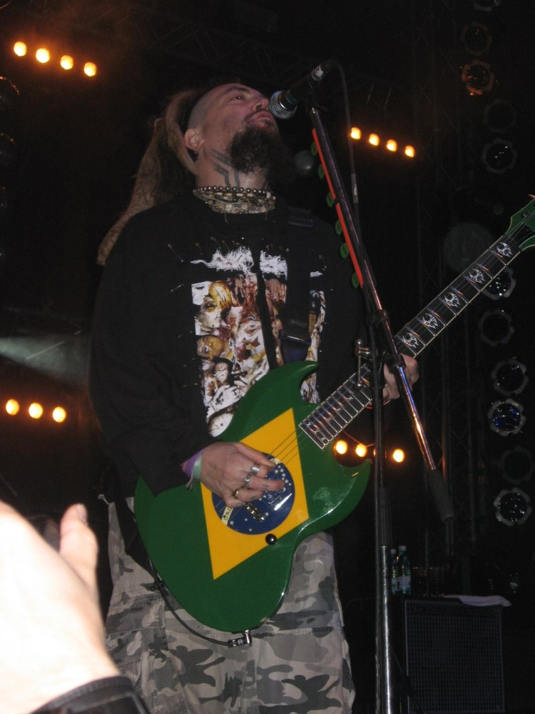 SOULFLY. MAX CAVALERA interview (6/6)