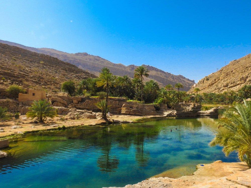 Il Wadi Bani Khalid in Oman