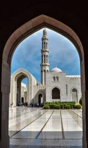 La Moschea Sultan Qaboos in Oman