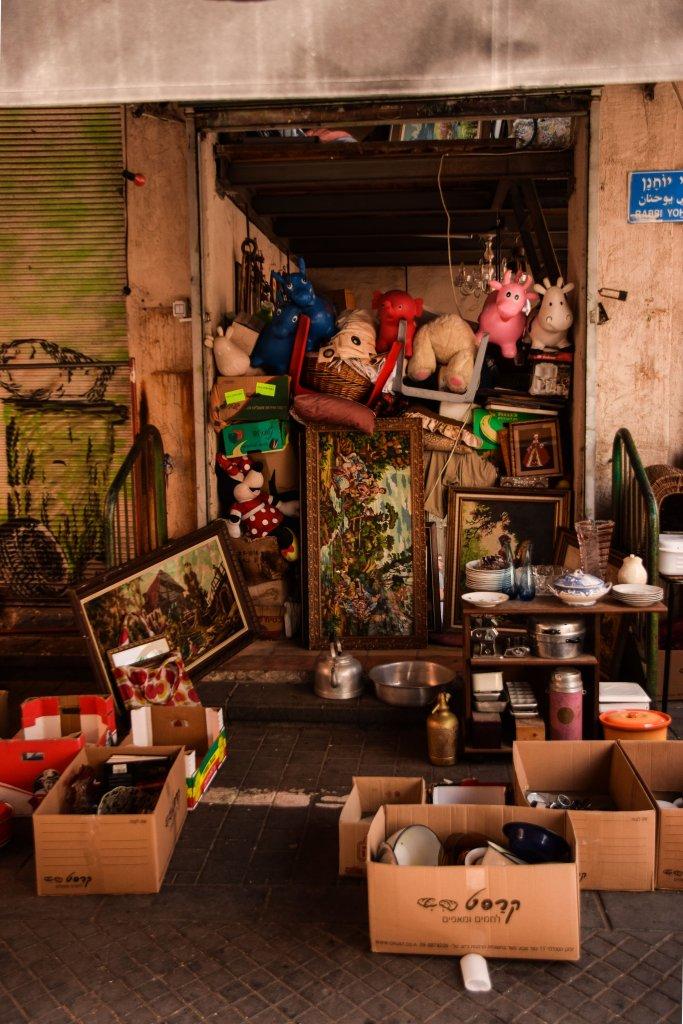 I mercatini dell'usato a Jaffa Tel Aviv