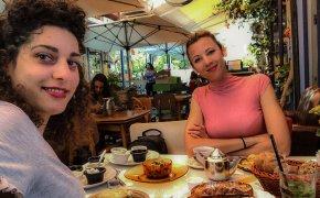 La nostra colazione da Puaa a Jaffa
