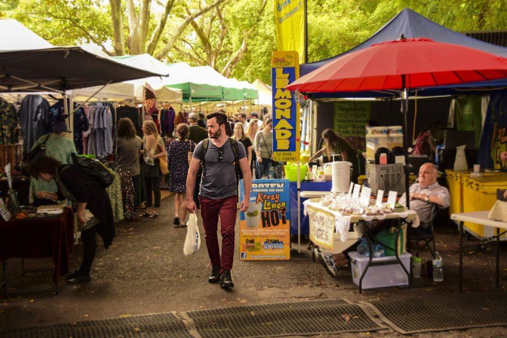 West End Davies Park Market