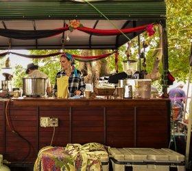 Davies Park Market banchetto gypsy