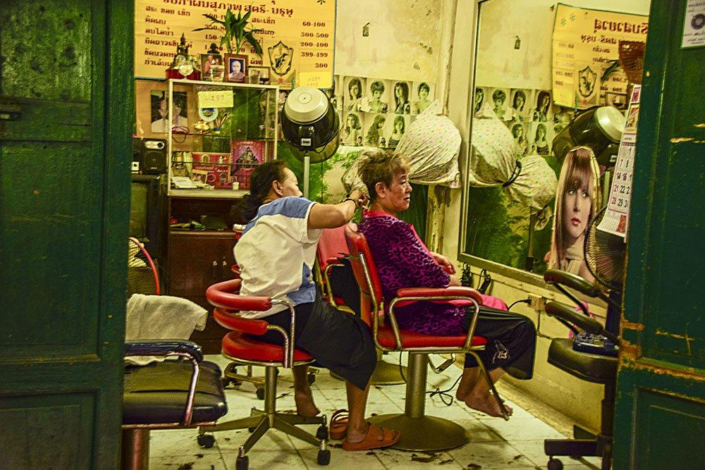 Bangkok un salone di bellezza