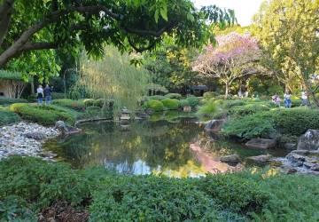 Brisbane Botanic Gardens Giardino Giapponese