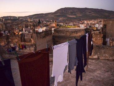 Marocco Fes Terrazza del nostro Riad