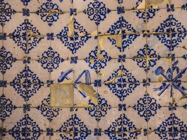 Guimaraes Dettaglio Azulejos Igreja de Nossa Senhora da Consolacao
