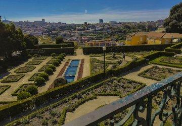 Porto I giardini romantici del Palacio de Cristal