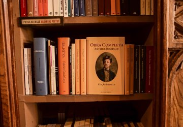 Porto Livraria Lello Dettaglio di uno scaffale