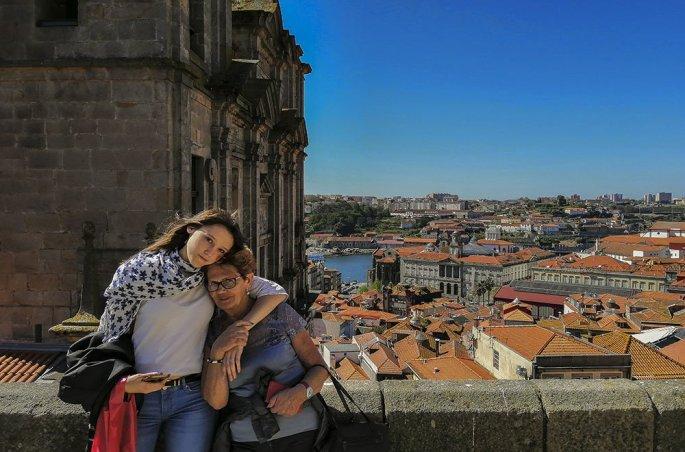 Porto Vista panoramica dalle antiche mure