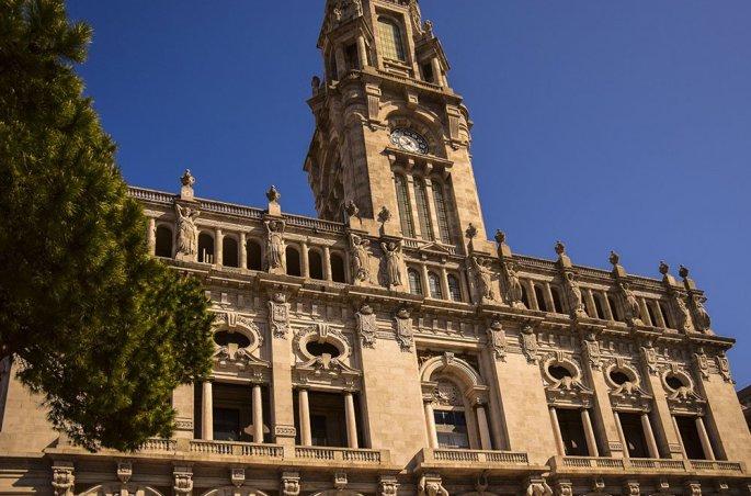 Porto Praca de Liberdade visione del palazzo