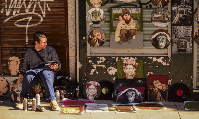 Porto Artista in Rua das Flores