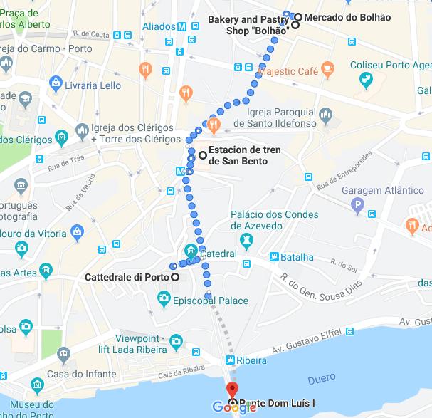 Cosa vedere a Porto itinerario