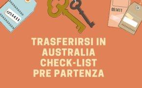 Trasferirsi in Australia organizzarsi