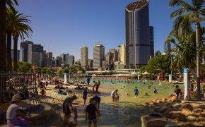 Cosa fare a Brisbane: South Bank il mare in città