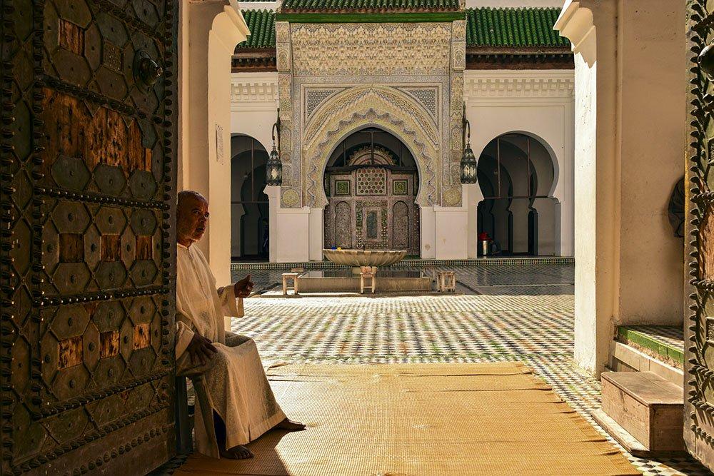 Fes Ingresso della Moschea