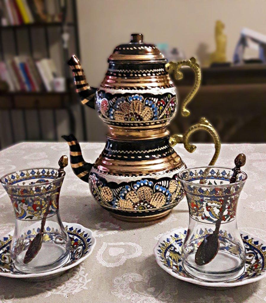 Teiera tipica turca