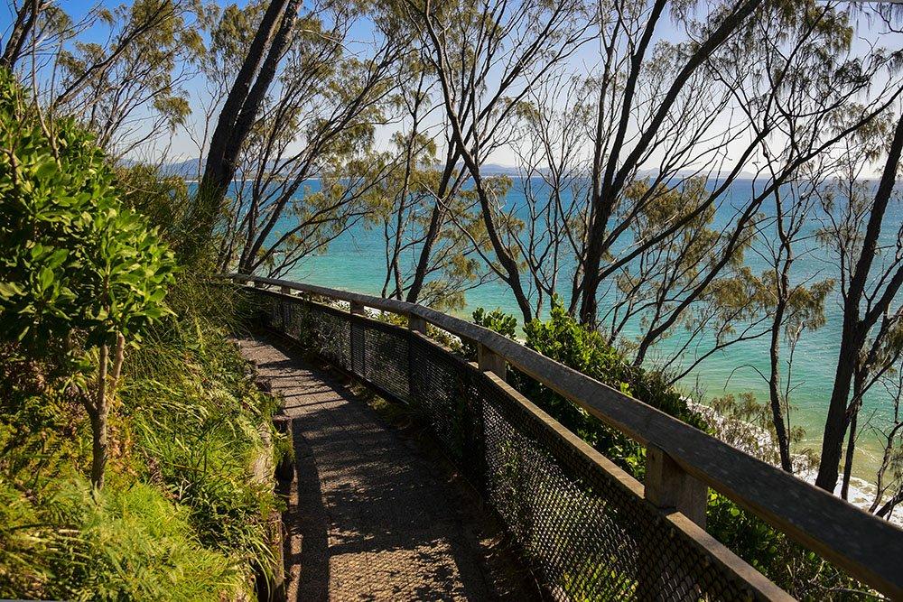 Passeggiata panoramica a Byron Bay