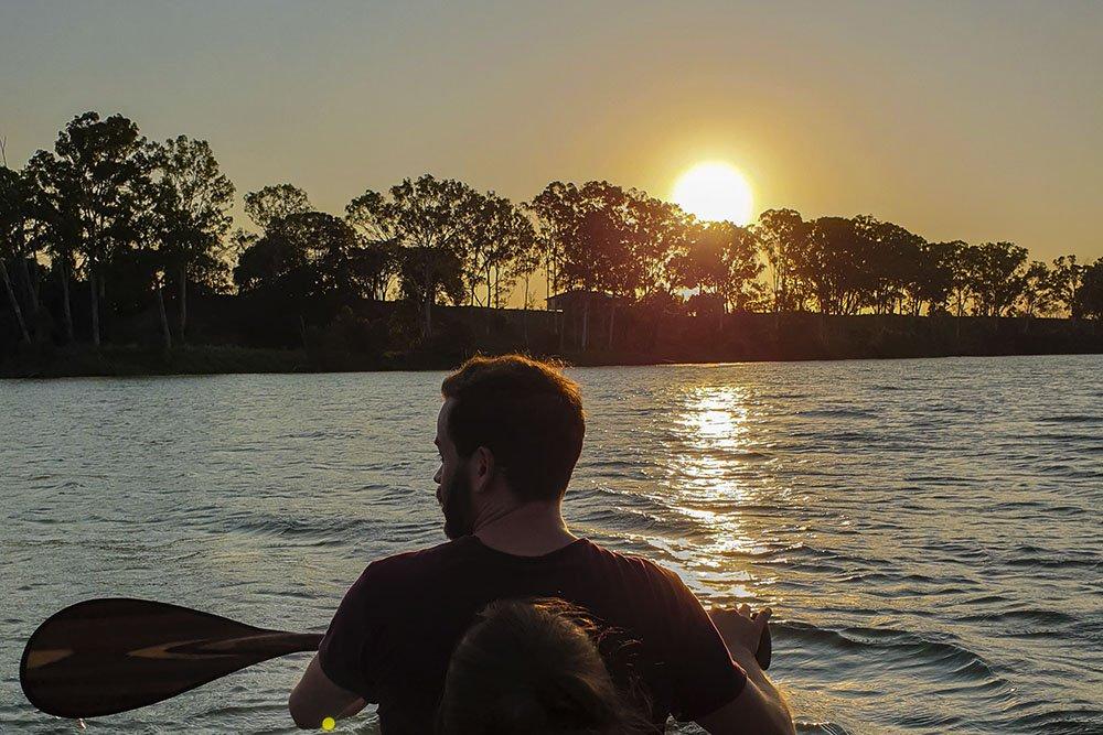 Kayak Burnet River