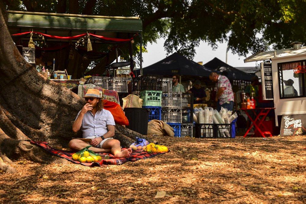 Brisbane Davies Park Market West End