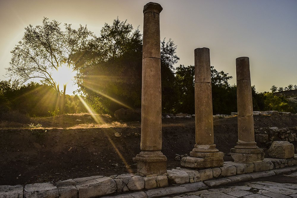 Stratonikeia resti colonne
