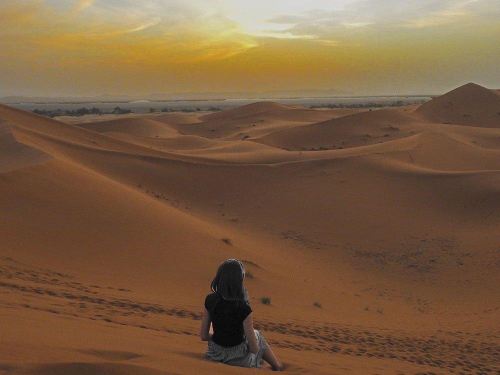 Cosa fare In Marocco? L'alba nel deserto