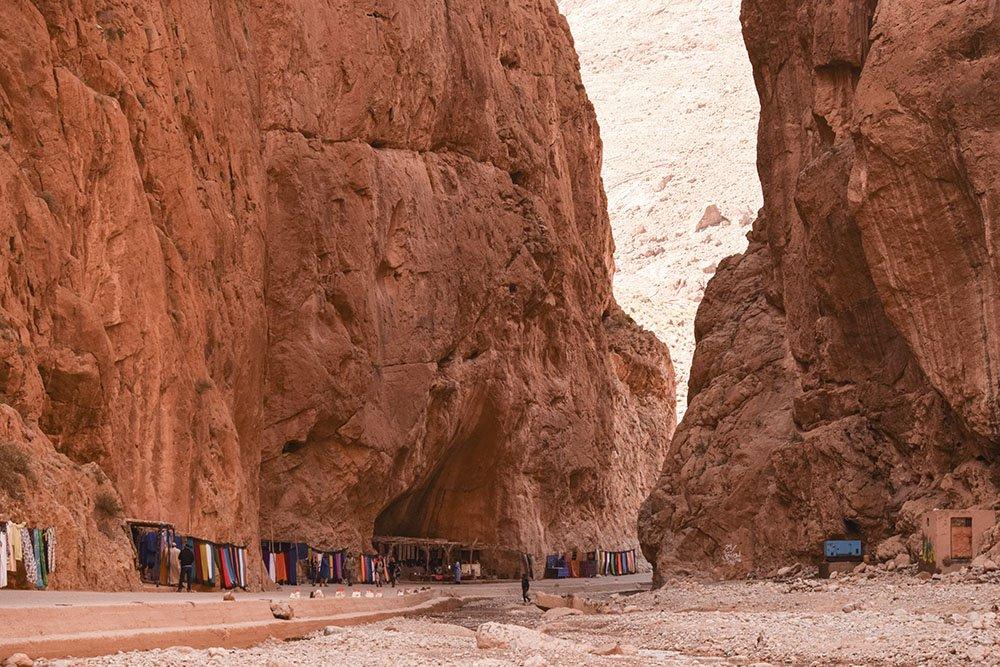 Marocco gole Dades